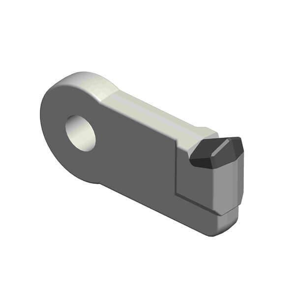 Shredder Hammer fitting to Duratech Grinder with 1 Carbide Tip