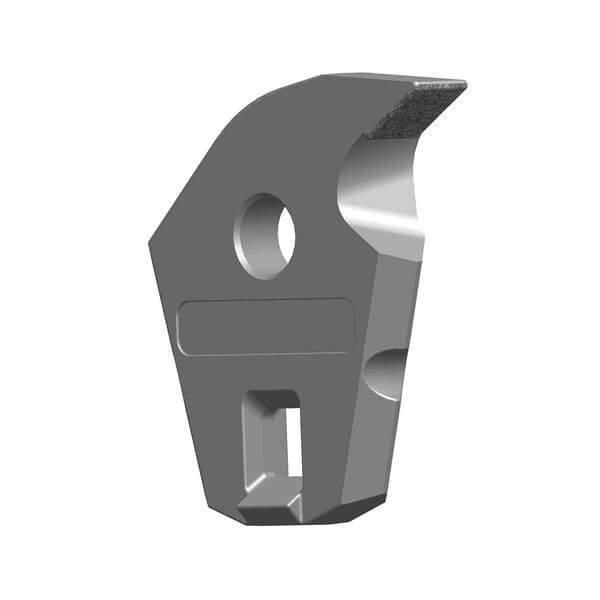 Shredder Sickle Teeth Fitting to Komptech Crambo Shredder, with 1 Layer
